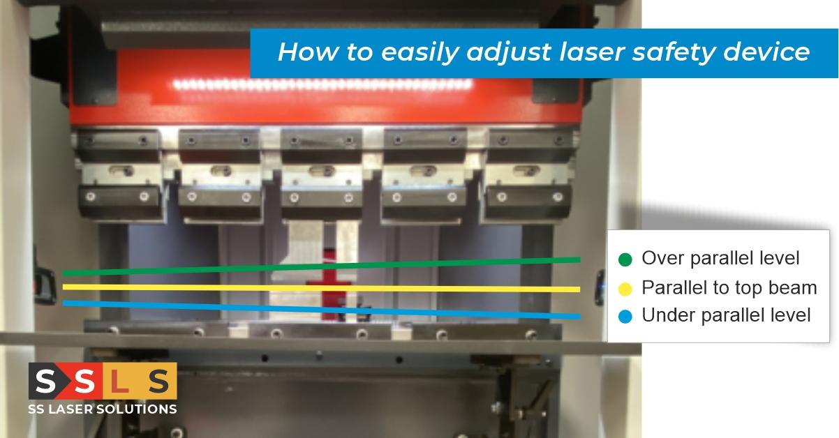 Adjusting-laser-safety-device-1-parallel-ssls-press-brake